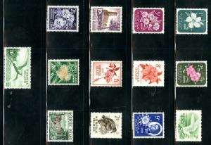 Norfolk Islands 29-41 MH SCV $61.80