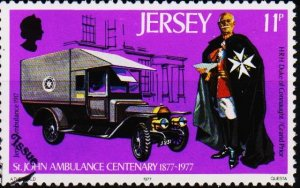 Jersey. 1977 11p S.G.177 Fine Used