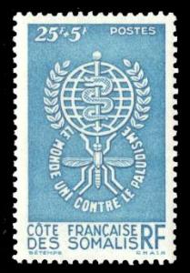 Somali Coast 1962 Scott #B15 Mint Never Hinged