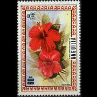 ANGUILLA 1972 - Scott# 156 Flower 60c NH