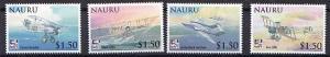 Nauru 2009 Scott 593-596 Naval Aviation Centennial MNH