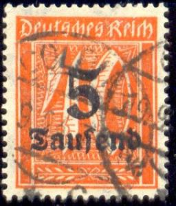 Germany stamp SC#242, used