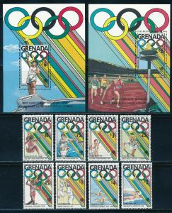 Grenada - Seoul Olympic Games MNH Sports Set #1685-92 (1988)