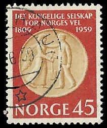 Norway - 376 - Used - SCV-0.60