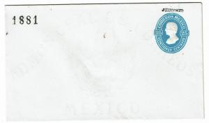 Mexico 1870s Povincial Stamped Postal Stationary Unused - Z426