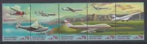 UN Geneva 311a Airplanes MNH VF