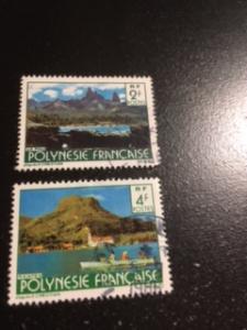 French Polynesia sc 314,316 u