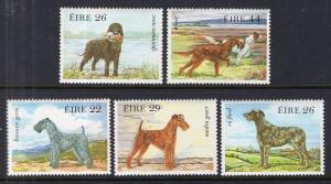 Ireland 563-567 Dogs MNH VF