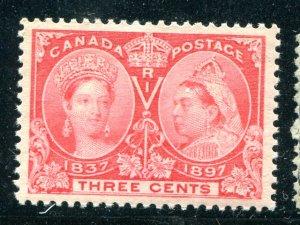 Canada #53  Mint XF NH  - Lakeshore Philatelics