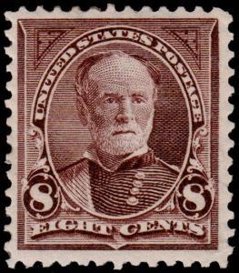 United States Scott 272 (1895) Mint LH VF, CV $70.00 B