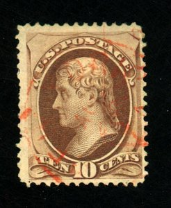 150 Used Red Cancel F-VF Small faults Cat $36.5