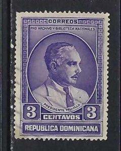 DOMINICAN REPUBLIC 313 VFU O801-3