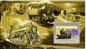 Locomotive Stamp Steam Train  French Region Nord S/S MNH #4397 /Bl.1035