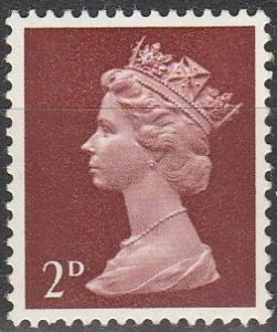 Great Britain #MH4 MNH F-VF (V1622)