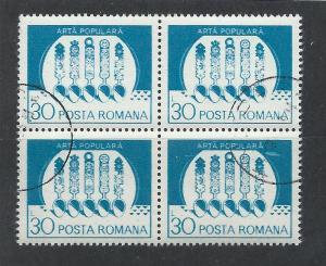 ROMANIA SC# 3116 VF U 1982 BK/4
