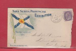 Nova Scotia Provincial Exhibition 1899 ad Canada cover