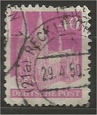 GERMANY, 1948, used 40pf rose lilac, Cologne Scott 651