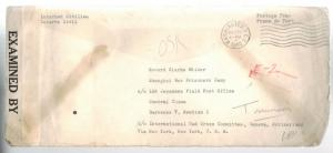 1942 USA to US Navy Prisoner of War Wake Island Japan POW in China Howard Wilder