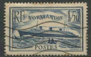 France - Scott 300 - General Issue -1935 - Used -Single 1.50fr Stamp