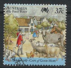 SG 1090  SC# 1028a  Used  - Australian Settlement 9th Issue