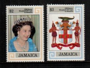 Jamaica  550 - 551  MNH cat $ 7.00