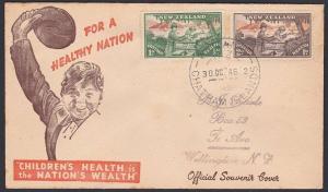 NEW ZEALAND 1945 cover WAITANGI / CHATHAM ISLANDS cds......................87738