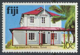 Fiji SG 585A  SC# 414  MNH  Architecture  see scan