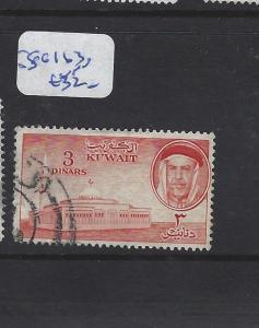 KUWAIT (P3112B)  3D  SG 163   VFU