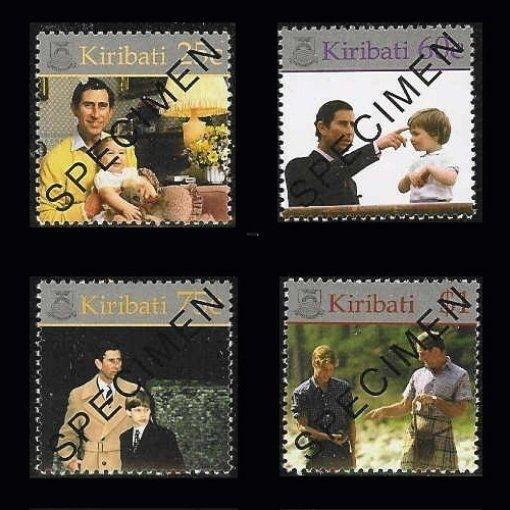 Kiribati 2000 Prince William 18th Birthday Specimens