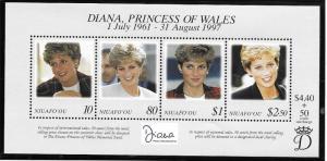 Niuafo'ou  Scott 201  MNH  Princess Diana