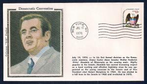 UNITED STATES Democratic Convention Mondale 1976 Colorano