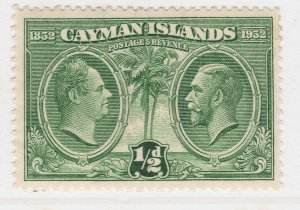 British Colony Cayman Islands 1932 1/2d MH* Stamp A22P19F8935