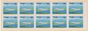 Palau Scott #C19a Stamps - Mint NH Booklet Pane