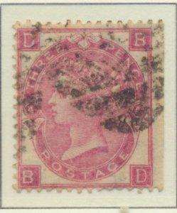 Great Britain Stamp Scott #44, Used/Canceled - Free U.S. Shipping, Free World...