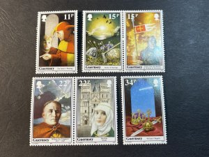 GUERNSEY # 356-361-MINT NEVER/HINGED--COMPLETE SET--1987