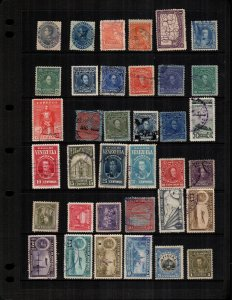 Venezuela  36 diff Used and mint  hinged