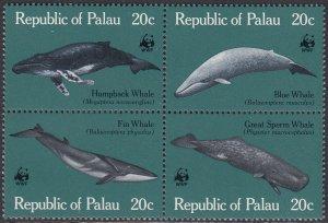 Palau 27a MNH - Whales