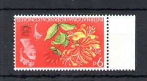 9d BOTANICAL UNMOUNTED MINT WITH WATERMARK INVERTED Cat £75