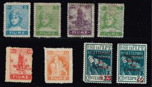 ITALY STAMPS COLLECTION LOT #T5  FIUME