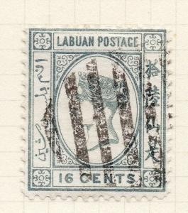 Labuan 1894 Early Issue Fine Used 16c. 277748