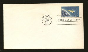 USA 1193 Project Mercury 1962 First Day Cover