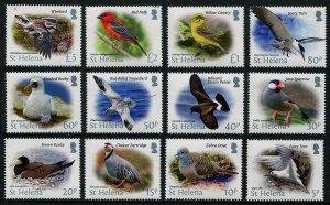 HERRICKSTAMP ST. HELENA Sc.# 1102-13 Birds 2015