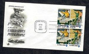 1493 - 1494 Postal People Unaddressed ArtCraft FDC