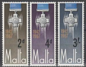 Malta #361-3  MNH VF (V2930L)