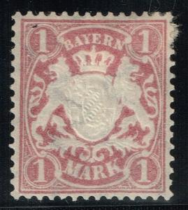 Bavaria SC# 54, Mint Hinged, Hinge Remnant -  Lot 122315