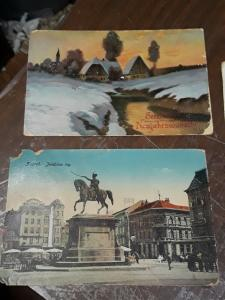 World Early Used Post Cards