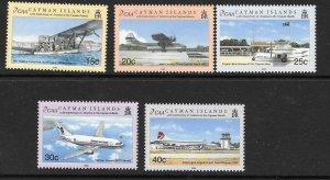 CAYMAN ISLANDS SG1000/5 2002 AVIATION  MNH
