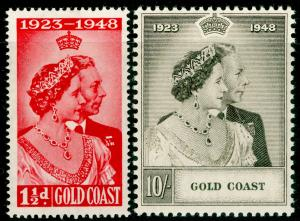 GOLD COAST SG147-148, 1948 RSW COMPLETE SET, LH MINT. Cat £35.