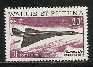 Wallis and Futuna Islands C30 1969 Concorde single MNH