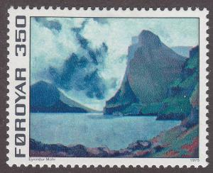 Faroe Islands 18  View of Vidoy and Svinoy 1975